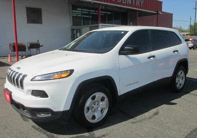 PRE-OWNED 2017 JEEP CHEROKEE SPORT FRONT WHEEL DRIVE SUV