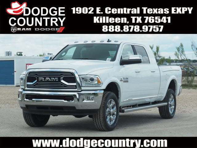 new 2017 ram 2500 longhorn mega cab in killeen 698845 dodge country. Black Bedroom Furniture Sets. Home Design Ideas